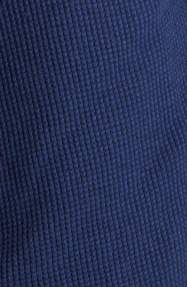 Alternate Image 3  - Zegna Sport Waffled Cashmere & Cotton Hoodie