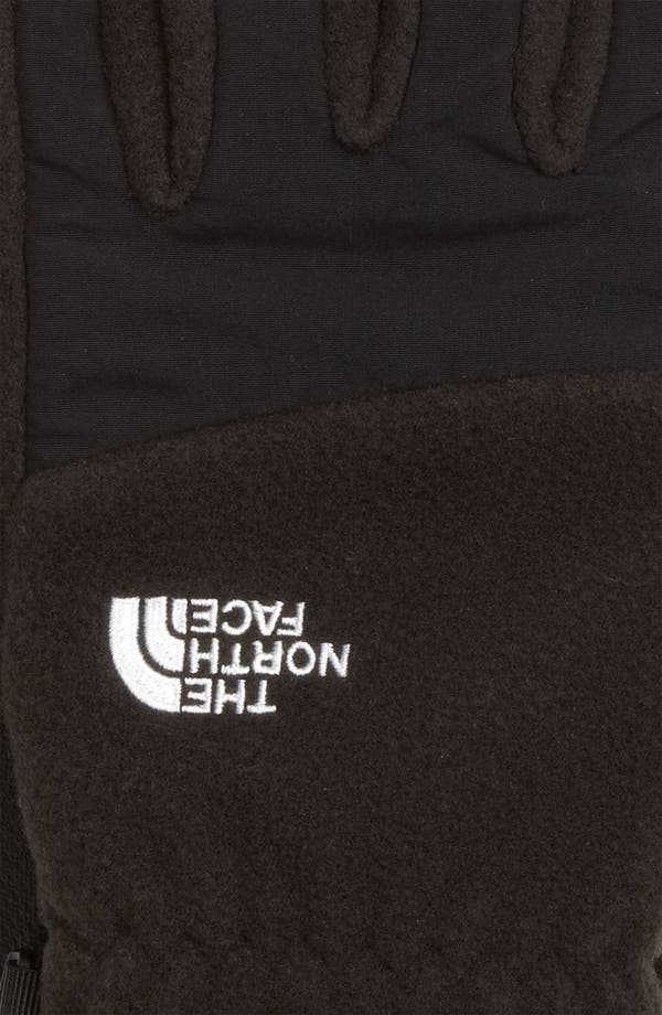 Alternate Image 2  - The North Face 'E-Tip Denali' Fleece Gloves