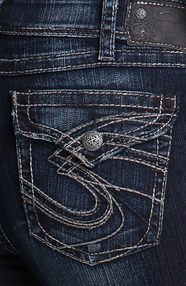 Alternate Image 3  - Silver Jeans Co. 'Suki' Surplus Bootcut Jeans (Juniors Plus)