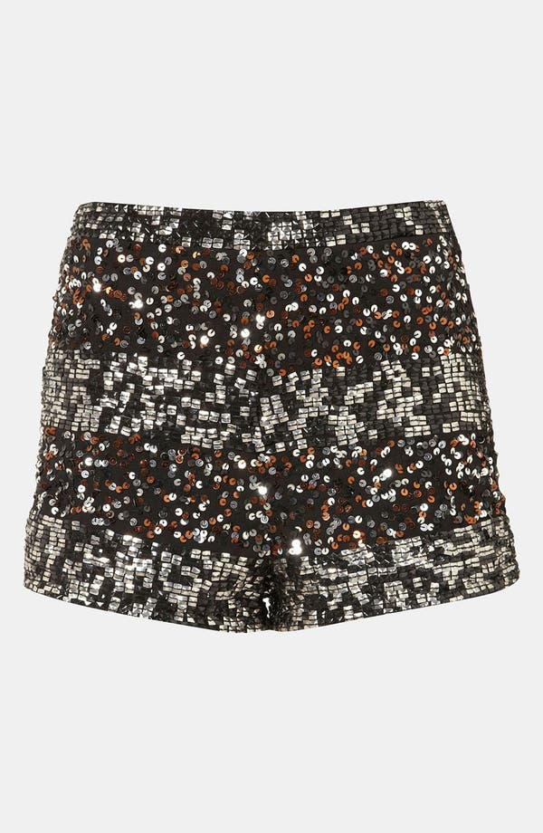 Alternate Image 1 Selected - Topshop Embellished Shorts