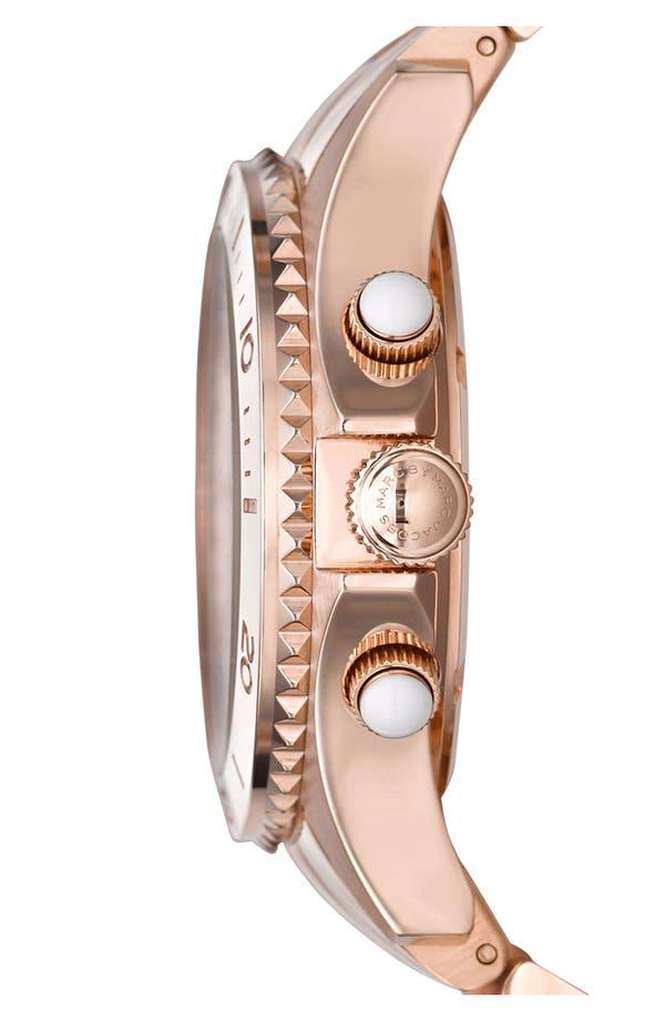 Alternate Image 3  - MARC JACOBS 'Rock' Chronograph Bracelet Watch, 40mm