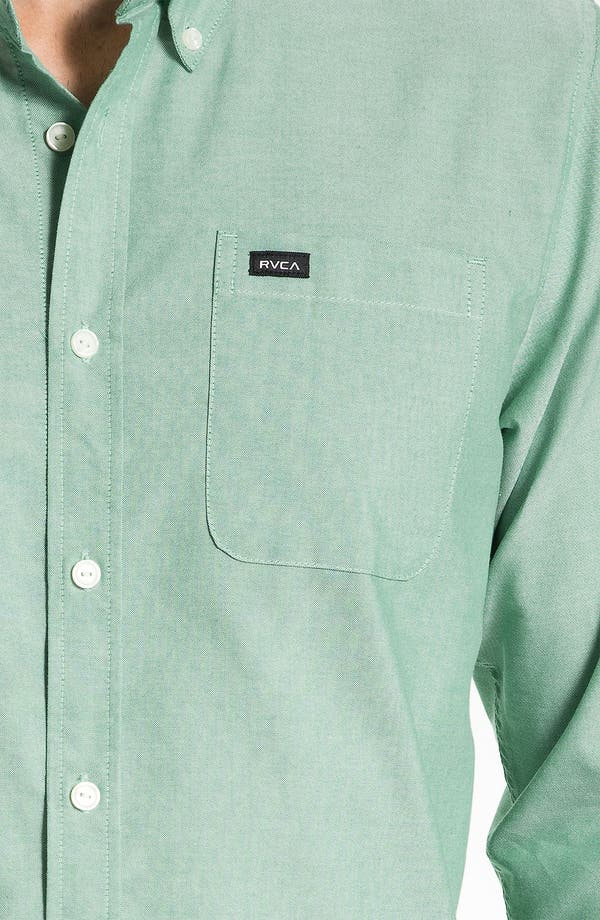 Alternate Image 3  - RVCA 'That'll Do' Oxford Shirt