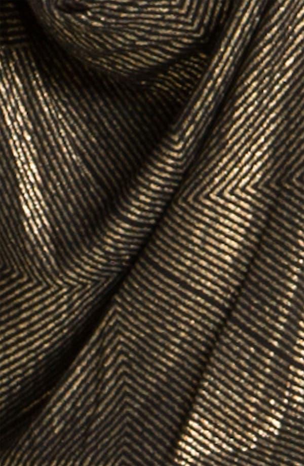 Alternate Image 3  - Ella Moss 'Gilda' Metallic Faux Wrap Peplum Top