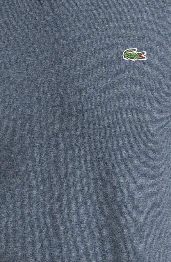 Alternate Image 3  - Lacoste Cotton & Cashmere Crewneck Sweater