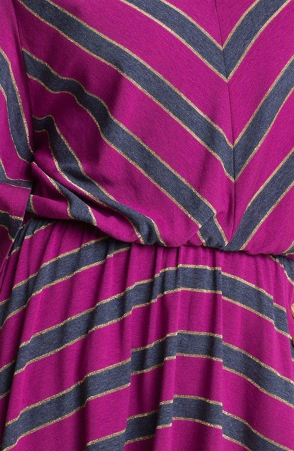 Alternate Image 3  - Ella Moss 'Astoria' Stripe Swallow Tail Top