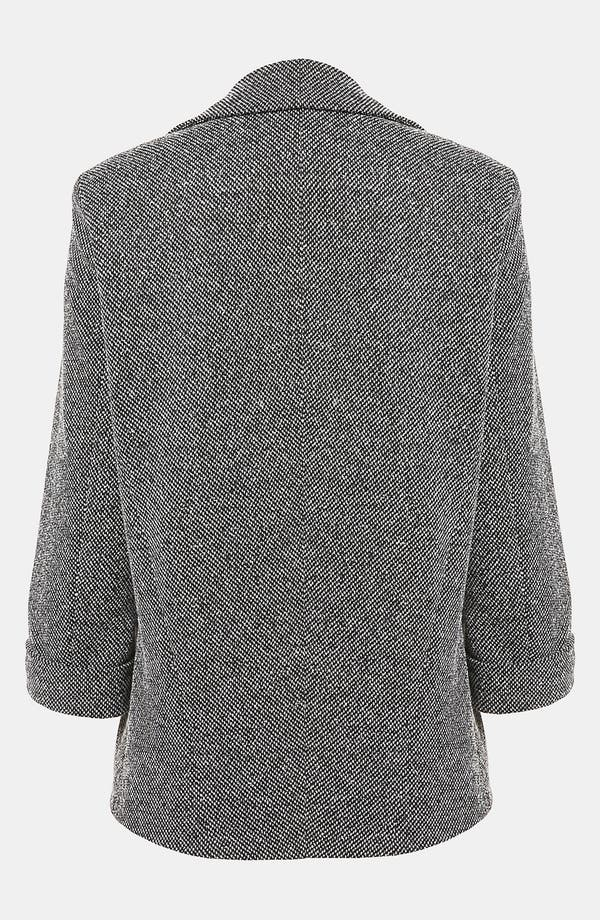 Alternate Image 2  - Topshop 'Monty' Textured Blazer