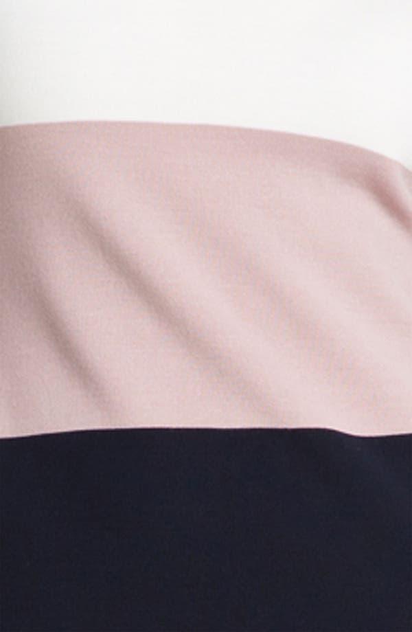 Alternate Image 3  - St. John Collection Colorblock Milano Knit Dress