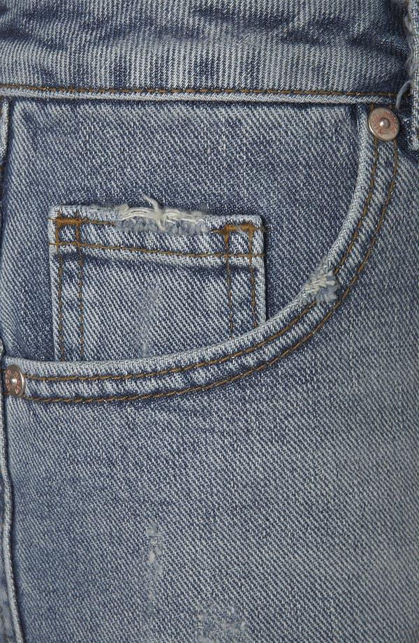 Alternate Image 3  - Topshop Moto 'Holly' Denim Shorts