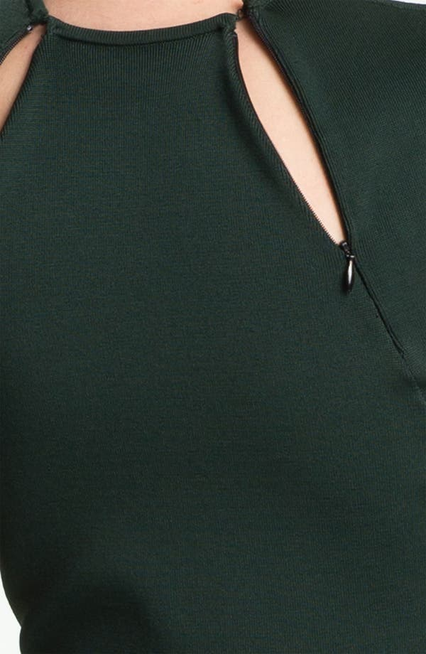 Alternate Image 4  - Alexander Wang Zip Detail Dress
