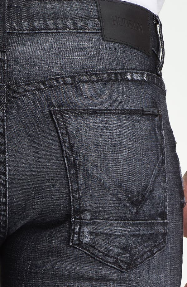 Alternate Image 4  - Hudson Jeans 'Byron' Straight Leg Jeans (Mogul)