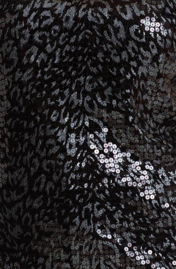 Alternate Image 3  - MICHAEL Michael Kors Foil Cheetah Print Top (Plus)