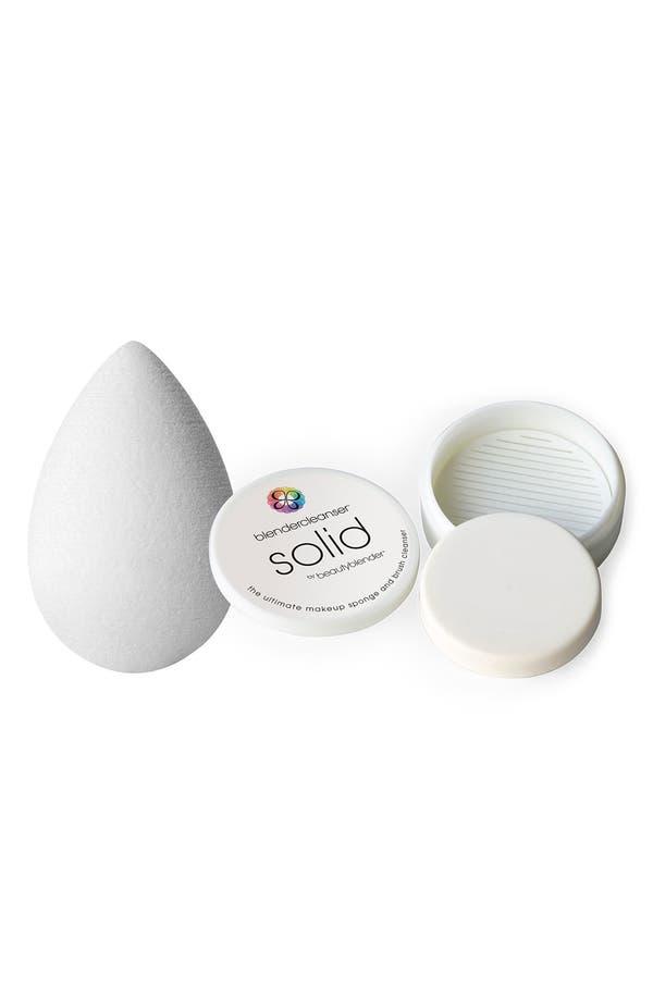 Alternate Image 1 Selected - beautyblender® 'Pure™' Makeup Sponge Applicator & Cleanser ($35.90 Value)