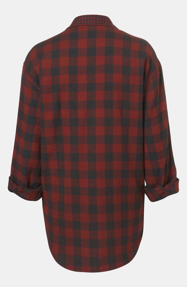 Alternate Image 2  - Topshop 'Blackwatch Mix & Match' Tartan Shirt