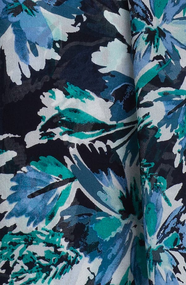 Alternate Image 2  - St. John Collection Hibiscus Print Scarf