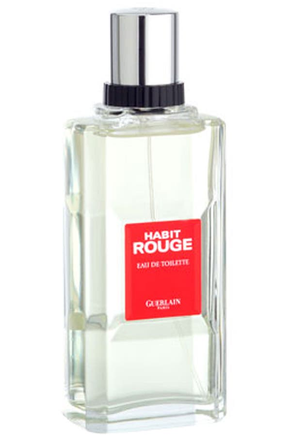 Alternate Image 1 Selected - Guerlain 'Habit Rouge' Eau de Toilette