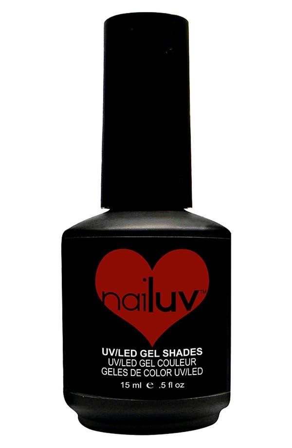 Main Image - NaiLuv™ 'Red Menace' Gel Nail Polish