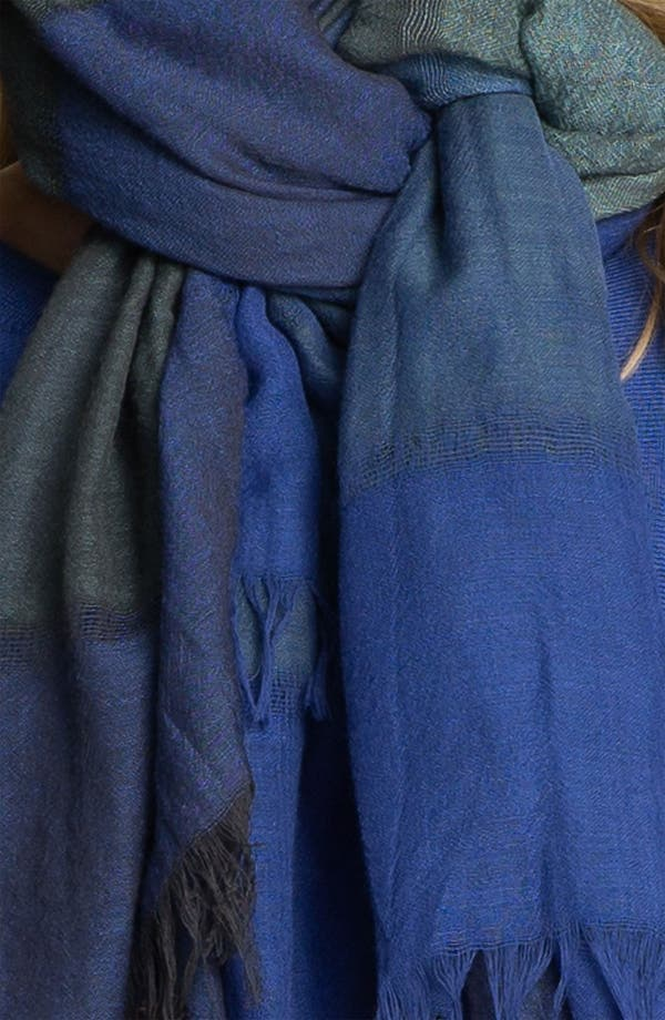 Alternate Image 3  - Eileen Fisher Fringed Wool Scarf
