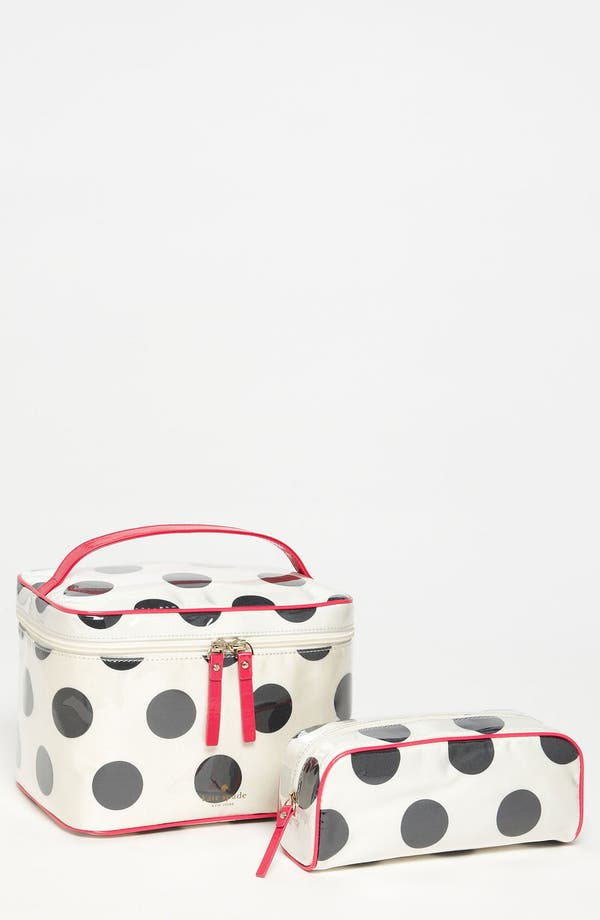 Alternate Image 1 Selected - kate spade new york 'le pavillion - large natalie' cosmetics case set