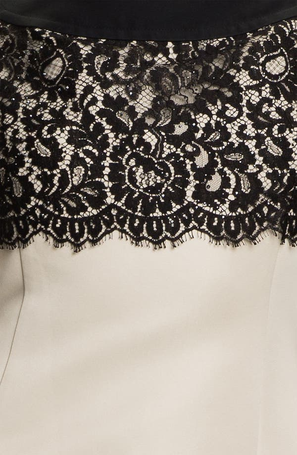 Alternate Image 3  - St. John Collection Lace & Sequin Sheath Dress