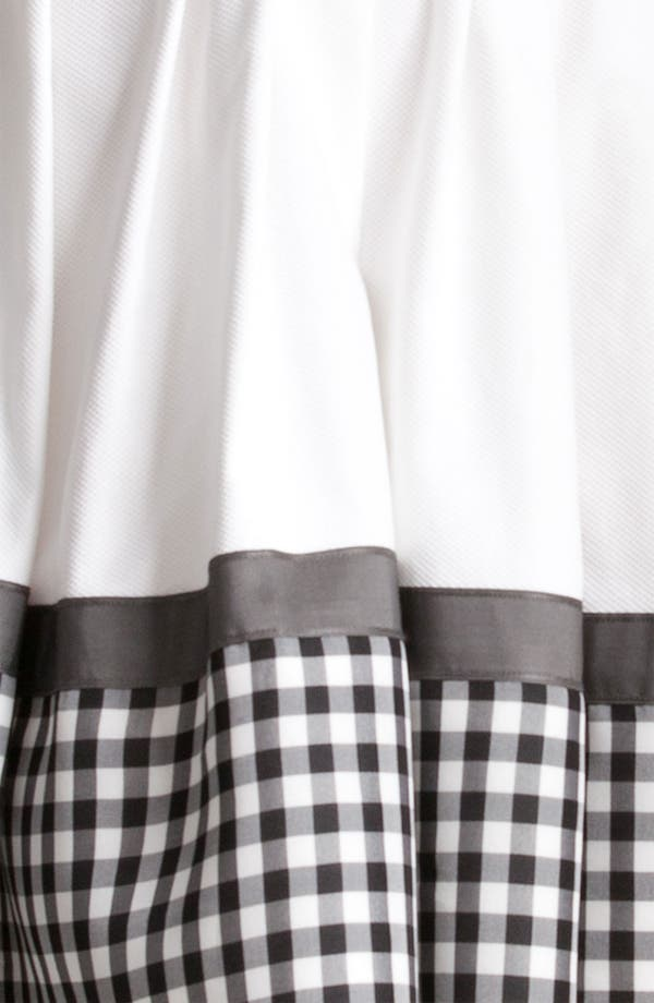 Alternate Image 3  - Jil Sander Navy Check Print Cotton Piqué Shirtdress