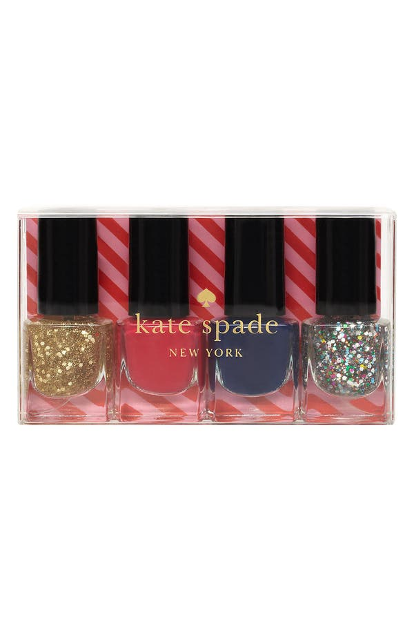 Alternate Image 2  - kate spade new york 'sprinkles' mini nail polish set