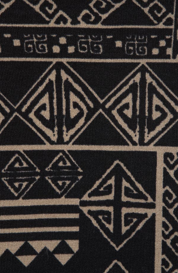 Alternate Image 3  - Topshop Aztec Print Surplice Back Cutout Dress