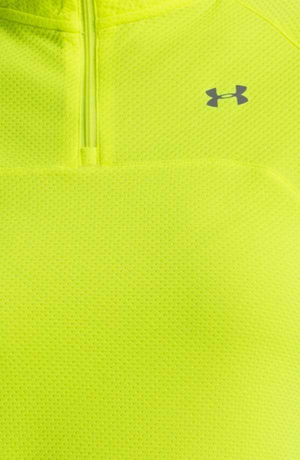 Alternate Image 3  - Under Armour 'Escape' Quarter Zip Top