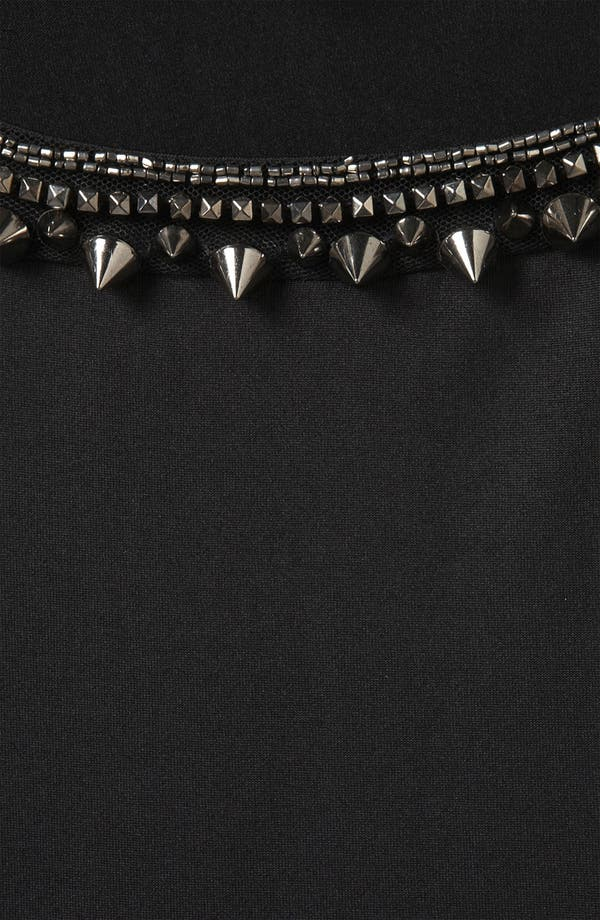 Alternate Image 3  - Topshop Stud Necklace Swing Top