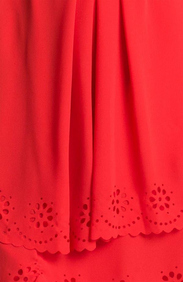 Alternate Image 3  - Jessica Simpson Tiered Eyelet Crêpe de Chine Dress
