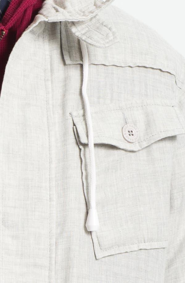 Alternate Image 3  - Kane & Unke Trim Fit Cotton Jacket