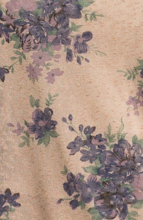 Alternate Image 3  - Olivia Moon Floral Print Pullover