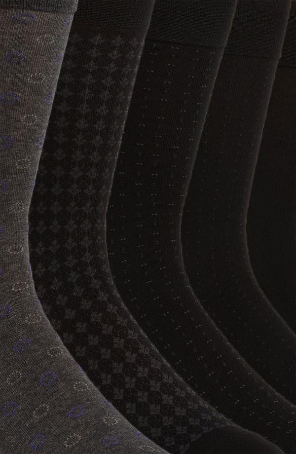 Alternate Image 2  - Cole Haan Assorted Socks (5-Pack)