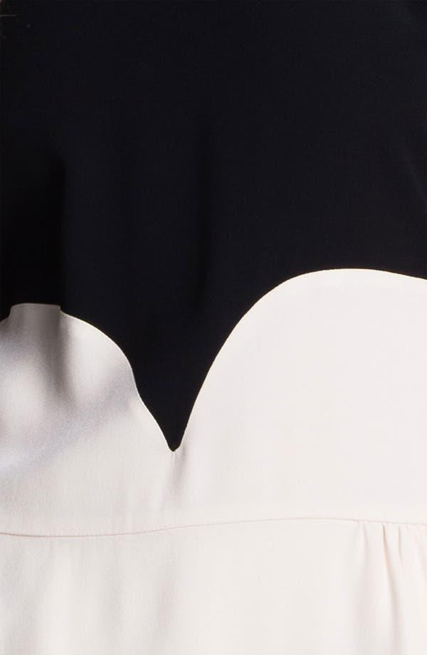 Alternate Image 3  - Victoria, Victoria Beckham Satin Backed Crepe Dress