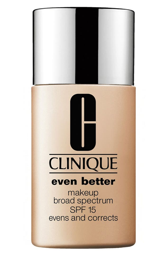 clinique even better makeup spf 15 nordstrom. Black Bedroom Furniture Sets. Home Design Ideas