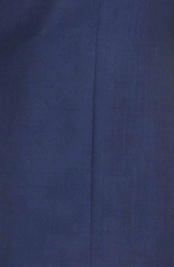 Alternate Image 6  - Z Zegna Trim Fit Wool Blend Suit