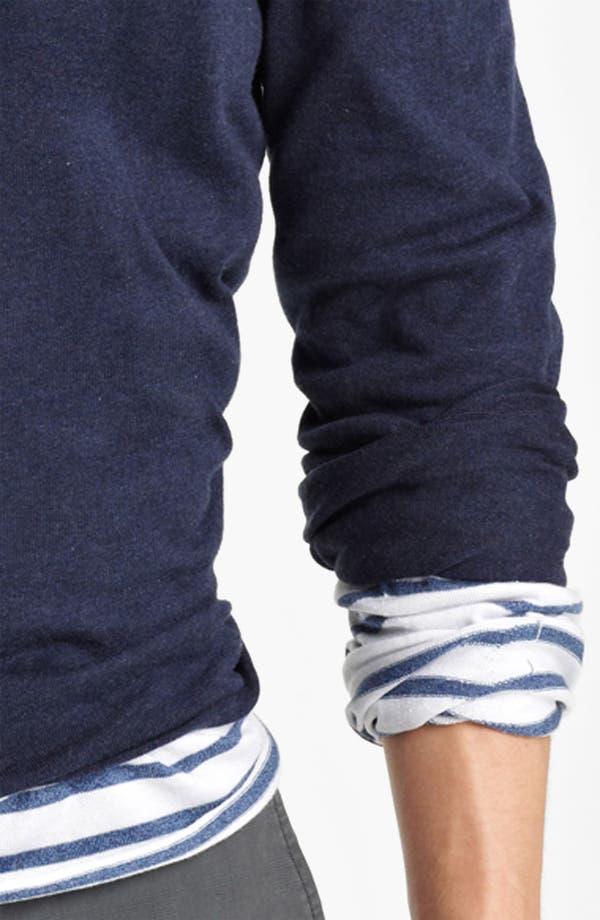 Alternate Image 3  - Zegna Sport Double Layer Crewneck T-Shirt