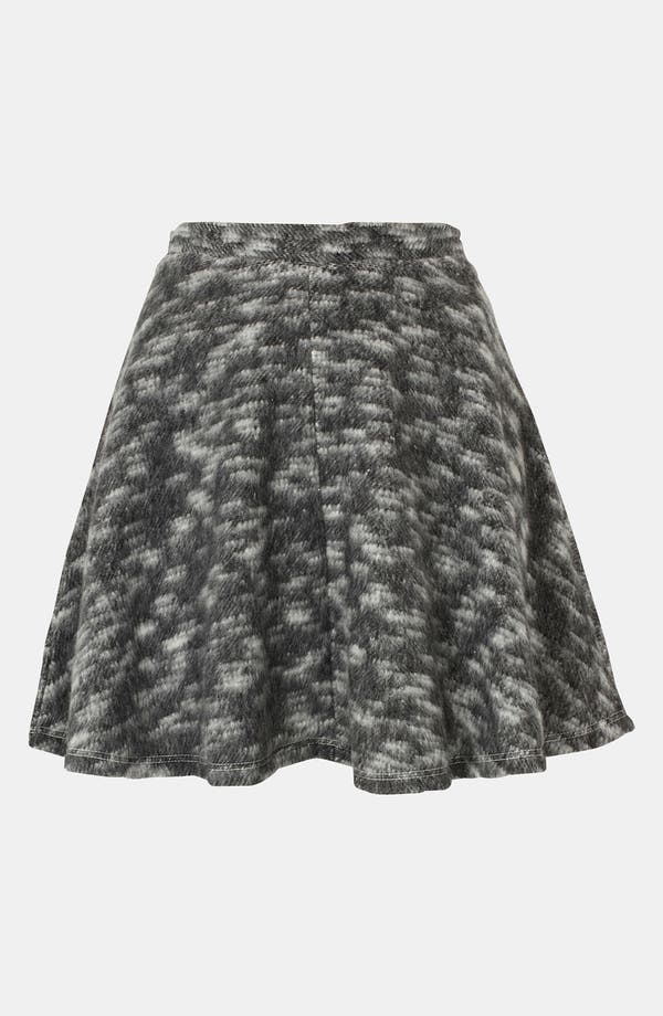 Alternate Image 1 Selected - Topshop Blanket Skater Skirt