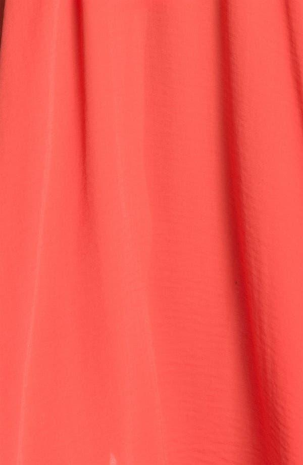 Alternate Image 3  - Abi Ferrin 'Goldie' V-Neck Halter Maxi Dress