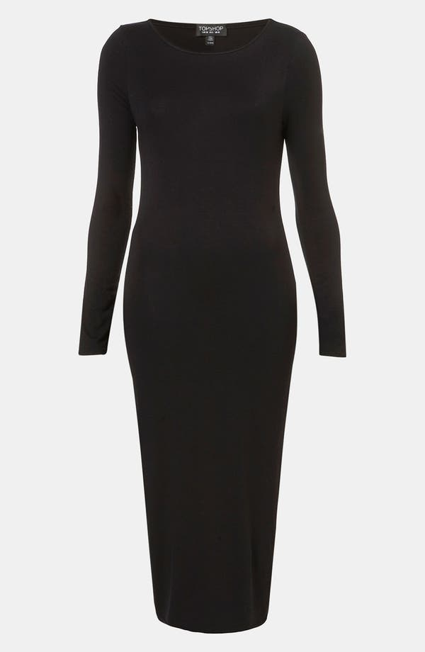 Alternate Image 1 Selected - Topshop Body-Con Midi Dress