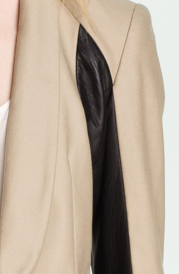Alternate Image 5  - rag & bone 'Jefferson' Leather Panel Blazer