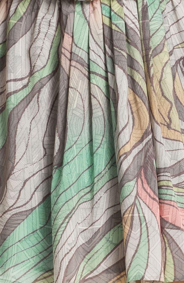 Alternate Image 3  - Jessica Simpson Print Blouson Chiffon Dress