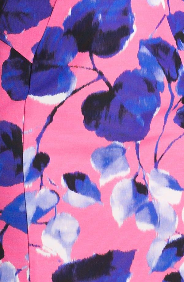 Alternate Image 3  - Milly 'Ivy' Cotton Blend Sheath Dress