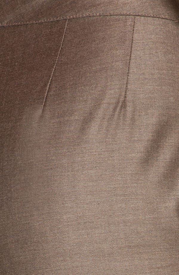 Alternate Image 5  - St. John Collection 'Diana' Shimmer Twill Pants