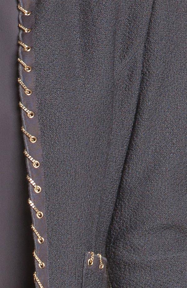 Alternate Image 5  - St. John Collection Chain Trim Bouclé Jacket