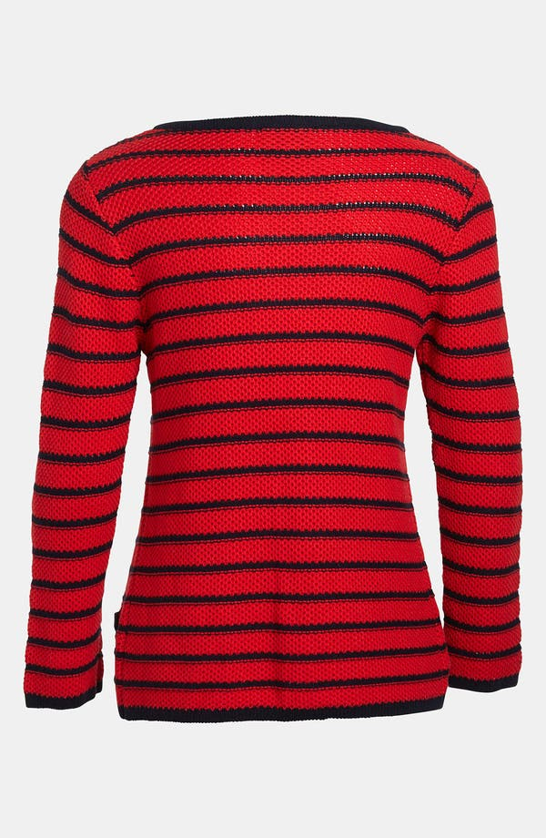 Alternate Image 3  - I.Madeline Stripe Knit Cardigan
