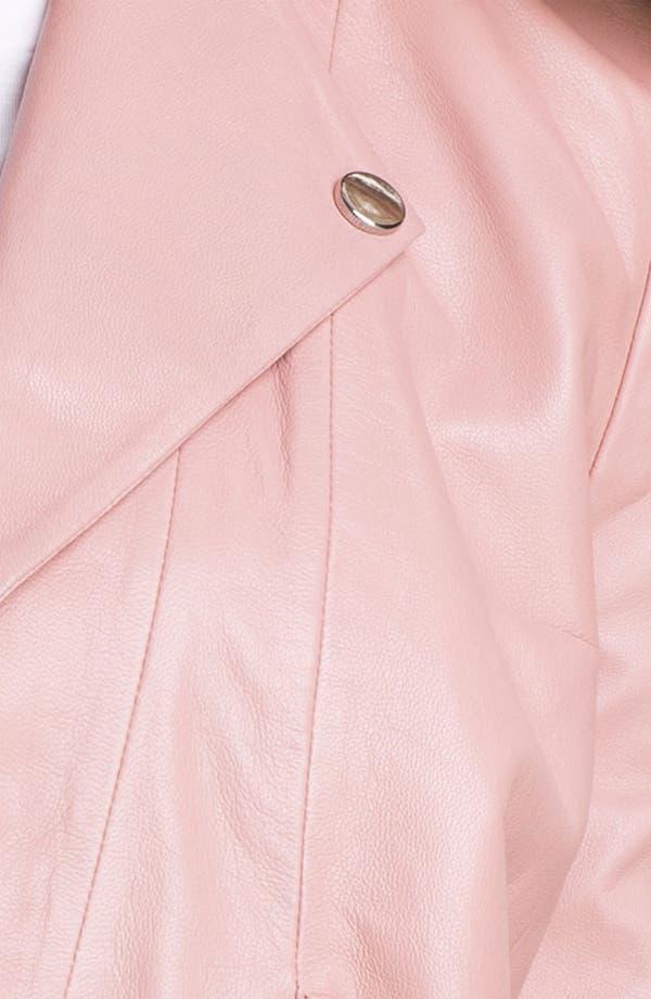 Alternate Image 3  - Kenneth Cole New York 'Lilian' Leather Jacket