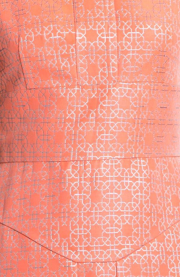 Alternate Image 3  - Tibi Metallic Jacquard Dress