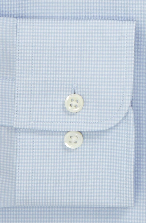 Alternate Image 2  - Ike Behar Regular Fit Tonal Texture Dress Shirt (Online Only)