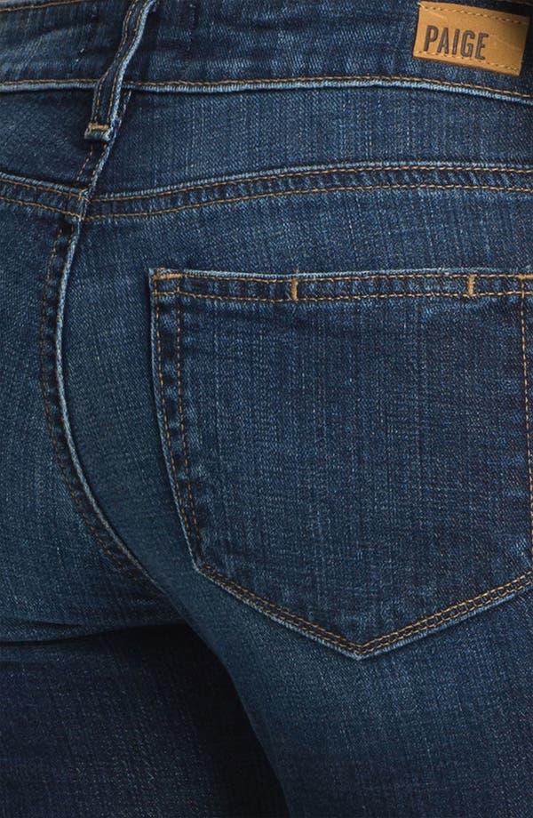 Alternate Image 3  - Paige Denim 'Kelsi' Straight Leg Stretch Jeans (Carley)