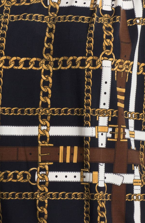 Alternate Image 3  - MICHAEL Michael Kors Toggle Chain Top (Petite)